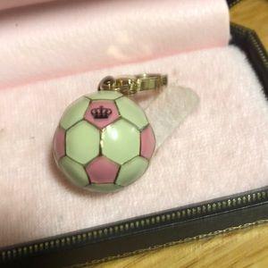 Juicy soccer ball charm